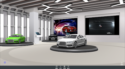 AR展厅 AR看车 3D建模 VR看车